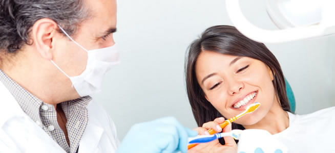 Oral hygiene instructions - Putney Periodontics